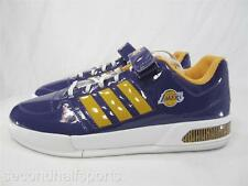Adidas LA Lakers Forum Low Shoes Glossy Sneakers NBA Los Angeles Basketball Kobe
