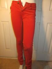 TRIPP CHERRY RED CORDUROY SKINNY JEANS PANTS DIFFERENT SIZES TO CHOOSE FROM