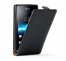 ULTRA SLIM Leather Flip Case Phone Cover for Sony Xperia E C1504 / C1505