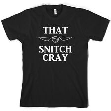 That Snitch Cray - Mens T-Shirt - Funny - Wizard - 10 Colours - Free UK P&P