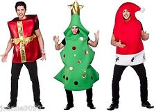 NEW MENS LADIES GIANT FUN CHRISTMAS GIFT NOVELTY XMAS FUNNY FANCY DRESS COSTUME