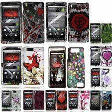 For Motorola Droid X MB810 Droid X2 MB870 Design Phone Hard Case Cover