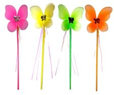 Neon coloured fairy wands