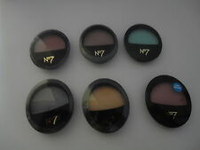 Boots No 7 Stay Perfect Eye Shadows VARIOUS COLOURS Mink,Emerald,Lilac,Midnight