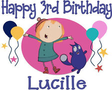 Peg + Cat Inspired Personalized Birthday T-shirt Custom Tee