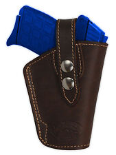 NEW Barsony OWB Brown Leather Holster Star, Bersa Small 380 Ultra-Comp 9mm 40 45
