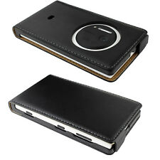 Accessories For The Nokia Lumia 1020 Real Genuine Leather Flip Case Cover & Film