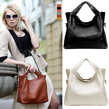 Hot Women Lady Genuine Leather Tote Shoulder Messenger Handbag Hobo Bags 7 Color