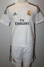 NWT ADIDAS REAL MADRID HOME MINI SET BOYS JERSEY SHORTS SIZE 2T 3T 4T XS 2TOD