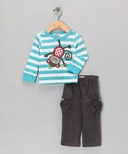 Mud Pie Baby Boy's Monkey T-Shirt & Trousers Set - REDUCED TO CLEAR BARGAIN!