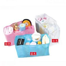 New Popular Baby Diaper Nappy Storage Travel Bag Tote Organizer Liner 3 Colors