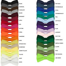 Boys Bow Ties (30+ different colors) (Ages 2-12) (Wedding/Formal Occasion)