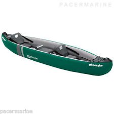 SEVYLOR ADVENTURE PLUS KIT THREE PERSON INFLATABLE CANOE KAYAK