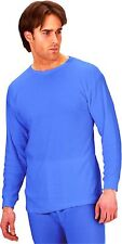Click Mens Thermal Underwear Vest Long Short Sleeved Warm Ski Winter T Shirt New