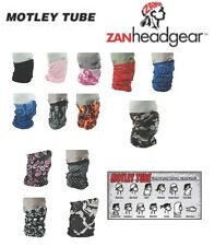 Zan HeadGear Motley Tube Facemask 2014 Harley Davidson Riding Coldgear Neck Warm