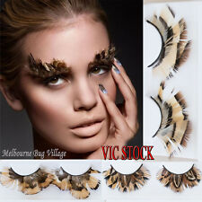 New Pretty Feather False Eyelashes for Party Dancing Fake Lashes Makeup