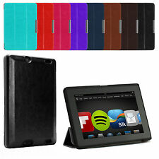 """SMART THIN LEATHER CASE COVER FOR AMAZON  KINDLE FIRE HD 7"""" 2 (2nd Gen. 2013)"""