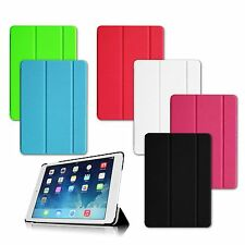 For Apple iPad Air iPad 5th Gen Twill Smart Cover Case with Auto Wake / Sleep