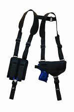 NEW Barsony Shoulder Holster w/ Dbl Mag Pouch for Sig-Sauer Compact 9mm 40 45