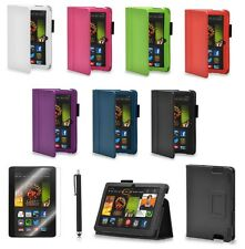 "CUOIO Flip Stand Custodia Cover per Amazon Kindle Fire i transponder HDX 8.9 Pollici 8.9 ""Tablet"