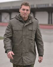 GERMAN ARMY MILITARY WINTER OLIVE PARKA COMBAT JACKET COAT M65 MA1 MA2 XS - 5XL