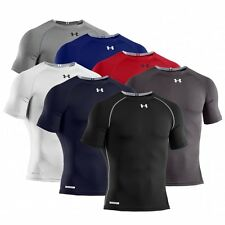 Under Armour Men's HeatGear Sonic Compression Short Sleeve Baselayer Top