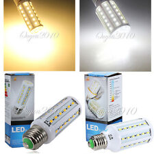220V E27 10W/15W 42/60 LED 5630 SMD LED Light Corn Bulb Lamp pure Warm White New