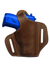 NEW Barsony Brown Leather Pancake Gun Holster Kel-Tec Ruger Kahr Mini 22 25 380