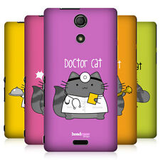 HEAD CASE DESIGNS WILBUR THE PROFESSIONAL BACK CASE COVER FOR SONY XPERIA ZR