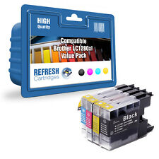 FULL SETS COMPATIBLE BROTHER DCP MFC PRINTER INK CARTRIDGES LC1280XL LC1280
