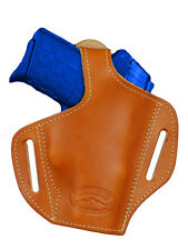 NEW Barsony Tan Leather Pancake Holster Ruger Kimber Small 380 UltraComp 9 40 45