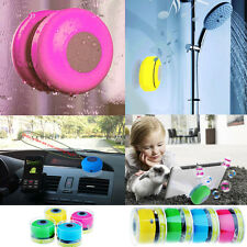 Mini Wireless Bluetooth 3.0 Music Receiver Speaker Waterproof Shower Car Suction