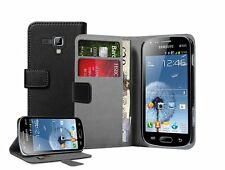 WALLET Leather Flip Case Cover Pouch for Samsung Galaxy Ace 2 X GT-S7560 S7560M
