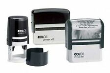 Colop Self Inking Rubber Stamp - Custom Bespoke Name and Address Logo's
