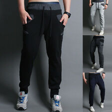 New Fashion Mens Stylish Casual Sport Long Pants Korean Slim Fit Trousers Cool