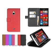 7 Colors Leather Folio Wallet Flip Case Cove + Film For Nokia Lumia 1320 a
