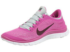 Nike Free 3.0 v5 WOMENS Pink/Light Grey Running Shoes - Authentic & IN STOCK