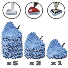 5, 3 or 1 H2O STEAM MOP, STEAMBOY & BISSELL CORAL PADS Microfiber Pad Microfibre