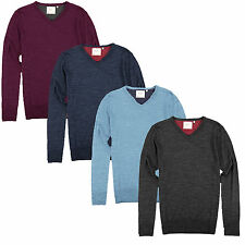 SALE ITEM WAS £24.99 Brave Soul MK-96 EnergyD Mens Plain Knitted Jumper Sweater