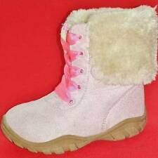 NEW Girl's Toddler's CARTERS BUCKNER Pink/Tan Faux Fur Fashion Winter Boots