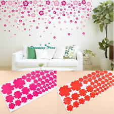 DIY Art Kids Children Room Wall Stickers Romantic Flowers Decor Decal Vinyl