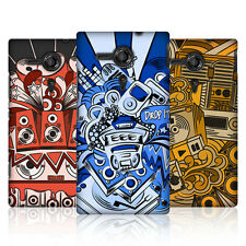 HEAD CASE BASS INVADER DESIGN SNAP-ON BACK CASE COVER FOR SONY XPERIA SP C5303