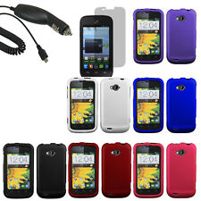 Protector Hard Shell Cover Case For ZTE Savvy Z750C Screen Car Charger