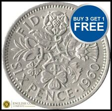 LUCKY SIXPENCE WEDDING FAVOURS BUY 2 GET 1 FREE CHOICE OF DATE FREE POSTAGE