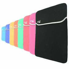 """Carrying Sleeve Neoprene Cover Bag Case For 9"""" - 17"""" inch Laptop / iPad / Tablet"""
