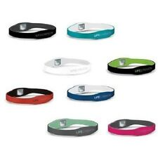 Lifestrength Ionic Healthy Wristband Negative Ion infused Oxygen Reversible Pure