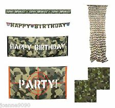 LARGE GREEN BROWN ARMY STEALTH BIRD HUNTING JUNGLE CAMO HIDE CAMOUFLAGE NETTING