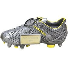 Warrior Football Boot Award,Antique Silver,3 Sizes,FREE Engraving