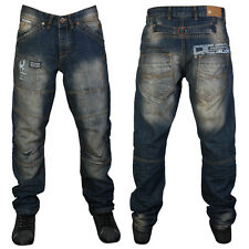 E21 DEAL MENS BLUE DENIM RAWCRAFT HITOSHI TAPERED JEANS ALL WAIST AND LEG SIZE