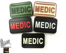 JTG PVC MEDIC  Patch  MEDICAL  PARAMEDIC Tactical Rubber ill Gear hook and loop